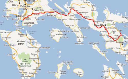 mindor batangas map